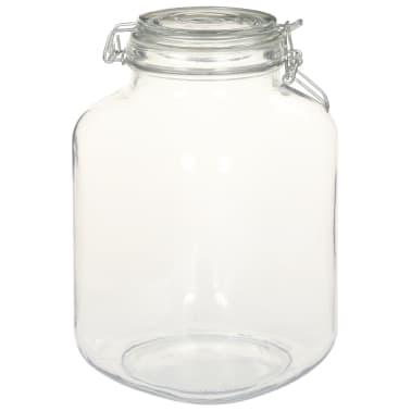 vidaXL Borcane din sticlă cu închidere ermetică, 12 buc., 3 L[3/5]