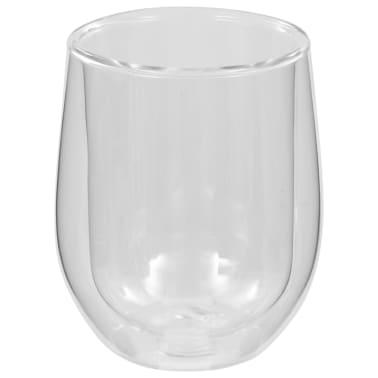 vidaXL Dvoustěnná termo sklenice na espresso 6 ks 320 ml[4/4]