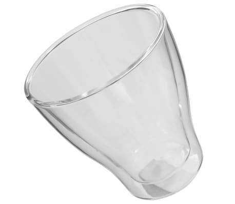 vidaXL Espressoglas dubbelväggiga 12 st 280 ml[3/4]
