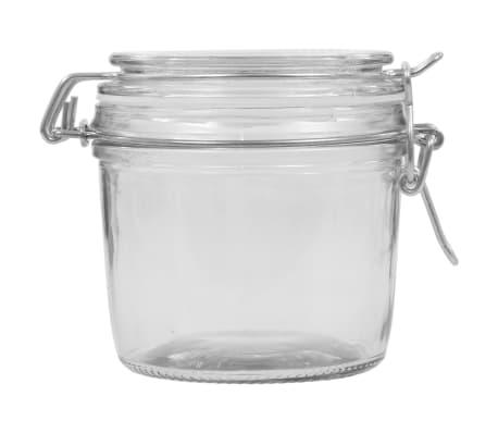 vidaXL Borcane depozitare, 6 buc., 340 ml, închidere clips[4/5]