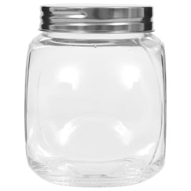 vidaXL Borcane pentru bomboane, 6 buc., 10,5 x 8 x 10,3 cm, 480 ml[4/6]