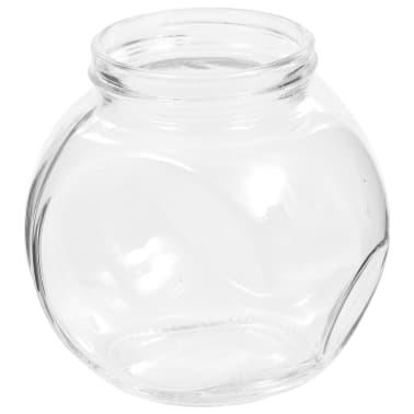 vidaXL Borcane pentru bomboane, 6 buc., 10,5 x 8 x 10,3 cm, 480 ml[6/6]
