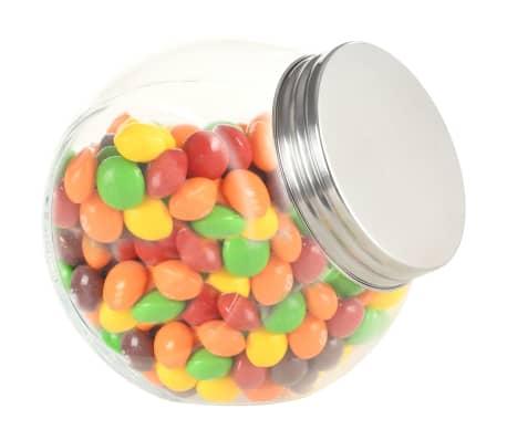 vidaXL Borcane pentru bomboane, 6 buc., 10,5 x 8 x 10,3 cm, 480 ml[1/6]