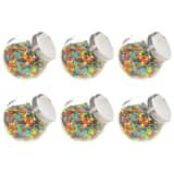 vidaXL 6 db cukorkásüveg 15,5 x 10,5 x 15 cm 1400 ml