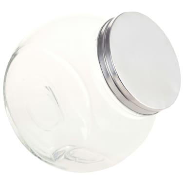 vidaXL Borcane pentru bomboane, 6 buc. 19,5 x 13,5 x 19,5 cm, 3000 ml[4/7]