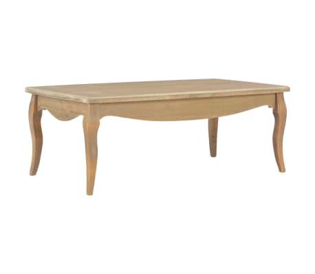 vidaXL Kavos staliukas, 110x60x40 cm, pušies medienos masyvas[1/7]