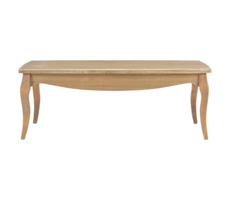 vidaXL Kavos staliukas, 110x60x40 cm, pušies medienos masyvas[2/7]