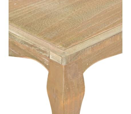 vidaXL Kavos staliukas, 110x60x40 cm, pušies medienos masyvas[5/7]