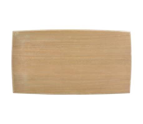 vidaXL Kavos staliukas, 110x60x40 cm, pušies medienos masyvas[6/7]