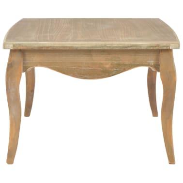 vidaXL Kavos staliukas, 110x60x40 cm, pušies medienos masyvas[3/7]