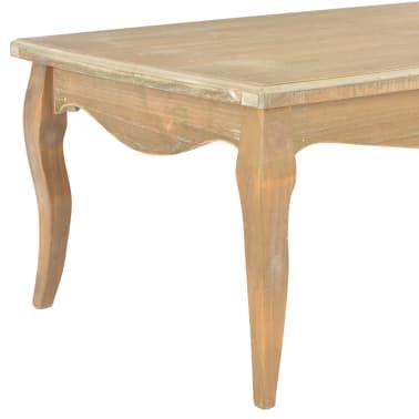 vidaXL Kavos staliukas, 110x60x40 cm, pušies medienos masyvas[4/7]