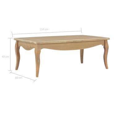 vidaXL Kavos staliukas, 110x60x40 cm, pušies medienos masyvas[7/7]