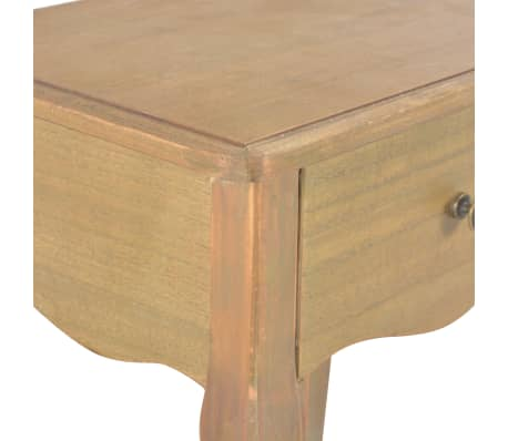 vidaXL Naktinis staliukas, 40x30x50cm, pušies medienos masyvas[7/9]