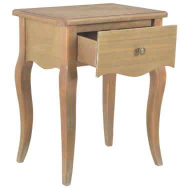 vidaXL Naktinis staliukas, 40x30x50cm, pušies medienos masyvas[3/9]