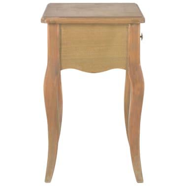 vidaXL Naktinis staliukas, 40x30x50cm, pušies medienos masyvas[4/9]