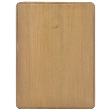 vidaXL Naktinis staliukas, 40x30x50cm, pušies medienos masyvas[6/9]