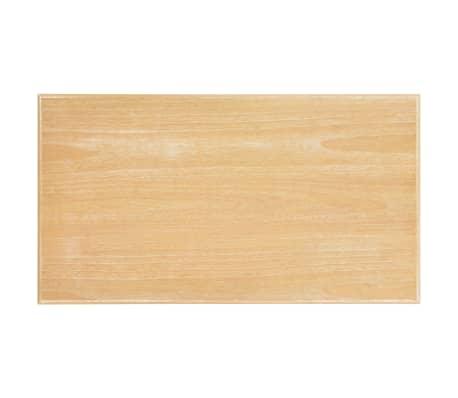 vidaXL Kavos staliukas, baltas, 110x60x40cm, MDF[8/9]