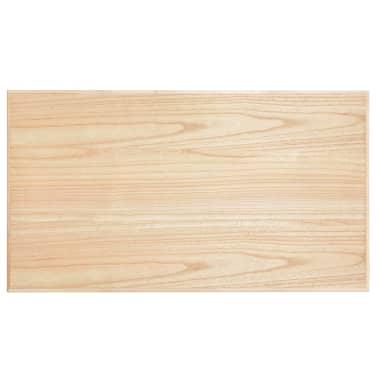 vidaXL Kavos staliukas, juodas, 110x60x40cm, MDF[8/9]