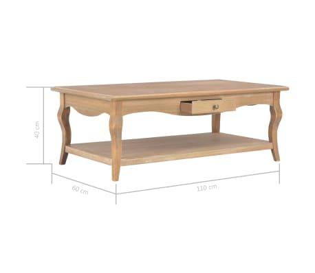 vidaXL Kavos staliukas, 110x60x40cm, MDF[9/9]