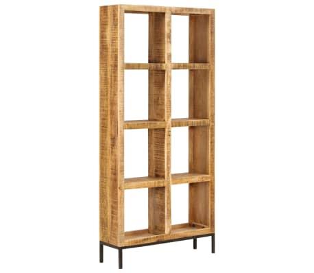 vidaXL Knygų lentyna, 80x25x175cm, mango medienos masyvas[11/12]
