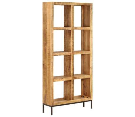 vidaXL Knygų lentyna, 80x25x175cm, mango medienos masyvas[12/12]