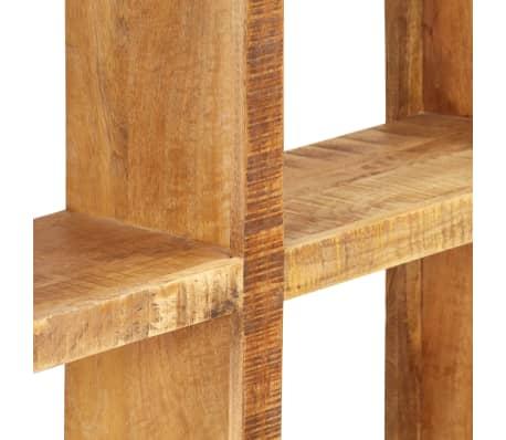 vidaXL Knygų lentyna, 80x25x175cm, mango medienos masyvas[5/12]