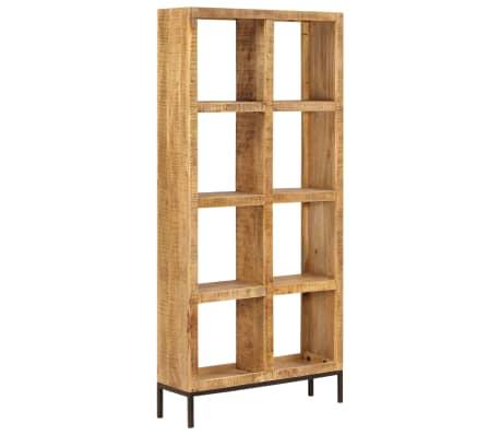 vidaXL Knygų lentyna, 80x25x175cm, mango medienos masyvas[10/12]