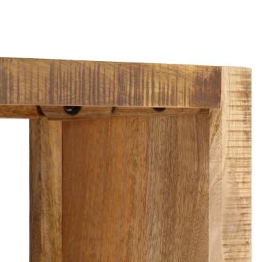 vidaXL Knygų lentyna, 80x25x175cm, mango medienos masyvas[4/12]