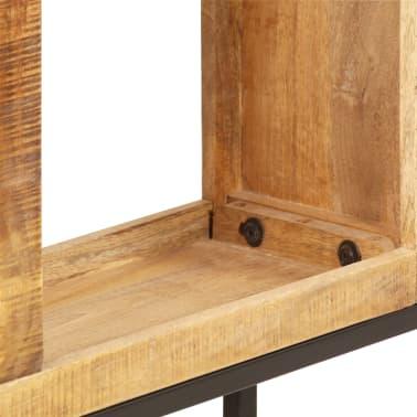 vidaXL Knygų lentyna, 80x25x175cm, mango medienos masyvas[6/12]