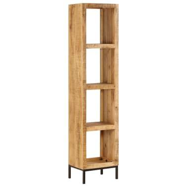 vidaXL Knygų lentyna, 40x30x175cm, mango medienos masyvas[12/13]