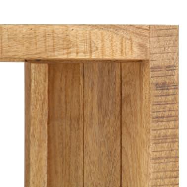vidaXL Knygų lentyna, 40x30x175cm, mango medienos masyvas[4/13]