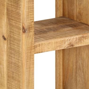 vidaXL Knygų lentyna, 40x30x175cm, mango medienos masyvas[6/13]