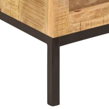 vidaXL Knygų lentyna, 40x30x175cm, mango medienos masyvas[7/13]
