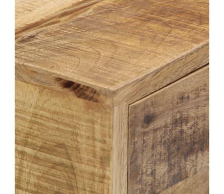 """vidaXL Sideboard 34.6""""x11.8""""x27.9"""" Solid Mango Wood[6/14]"""