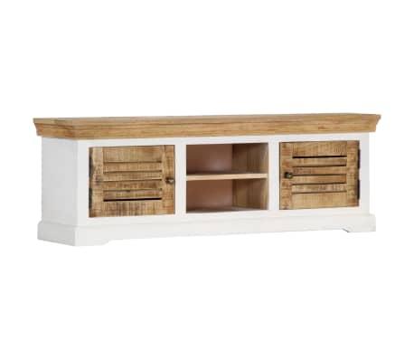 "vidaXL TV Cabinet 46.5""x11.8""x15.7"" Solid Mango Wood"