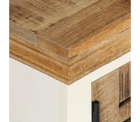 "vidaXL TV Cabinet 46.5""x11.8""x15.7"" Solid Mango Wood[4/11]"