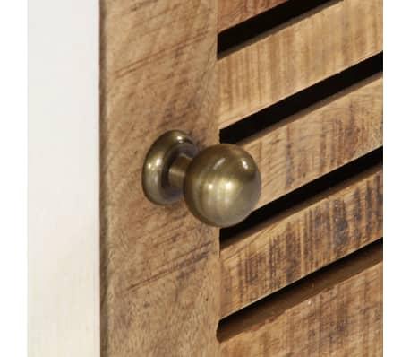 "vidaXL TV Cabinet 46.5""x11.8""x15.7"" Solid Mango Wood[5/11]"