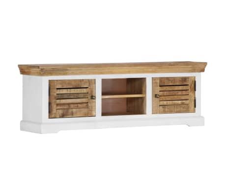 "vidaXL TV Cabinet 46.5""x11.8""x15.7"" Solid Mango Wood[8/11]"