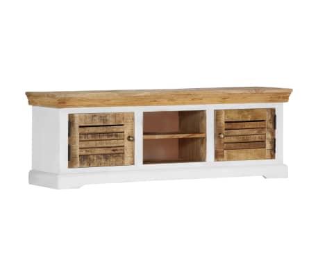"vidaXL TV Cabinet 46.5""x11.8""x15.7"" Solid Mango Wood[9/11]"