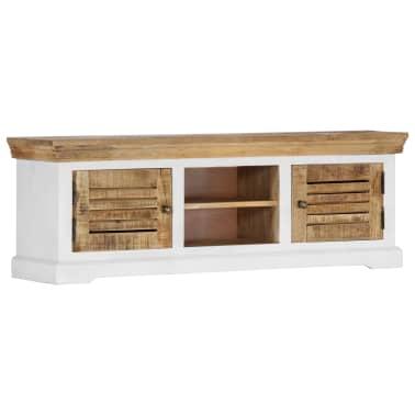 "vidaXL TV Cabinet 46.5""x11.8""x15.7"" Solid Mango Wood[11/11]"