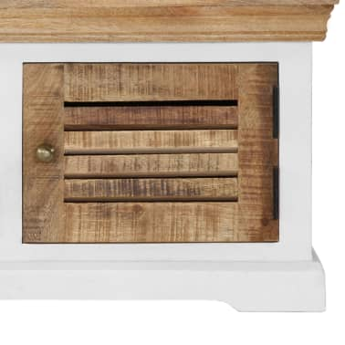 "vidaXL TV Cabinet 46.5""x11.8""x15.7"" Solid Mango Wood[6/11]"
