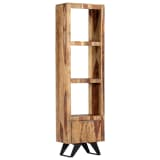 "vidaXL Highboard 17.7""x11""x70.9"" Solid Sheesham Wood"
