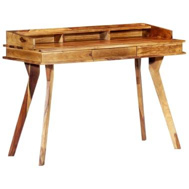 "vidaXL Writing Desk 45.3""x19.7""x33.5"" Solid Sheesham Wood[1/13]"