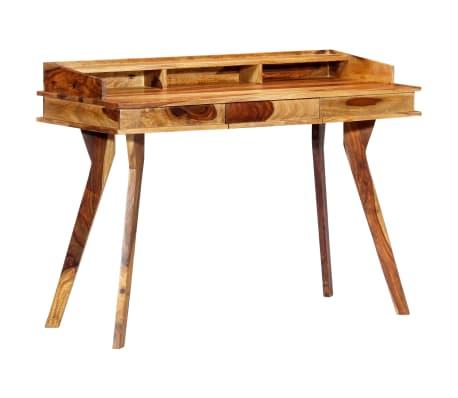 "vidaXL Writing Desk 45.3""x19.7""x33.5"" Solid Sheesham Wood[9/13]"