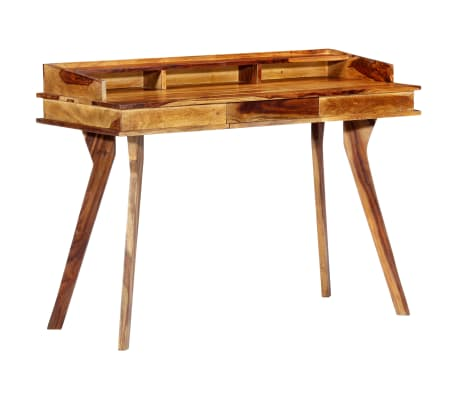 "vidaXL Writing Desk 45.3""x19.7""x33.5"" Solid Sheesham Wood[10/13]"