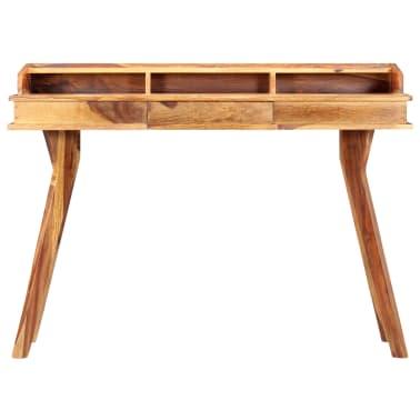 "vidaXL Writing Desk 45.3""x19.7""x33.5"" Solid Sheesham Wood[2/13]"
