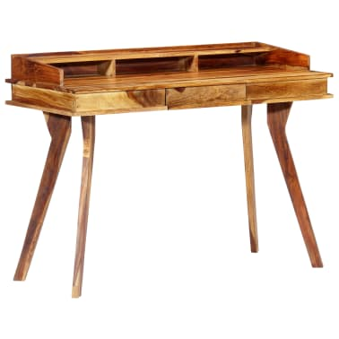"vidaXL Writing Desk 45.3""x19.7""x33.5"" Solid Sheesham Wood[11/13]"