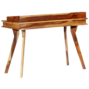 "vidaXL Writing Desk 45.3""x19.7""x33.5"" Solid Sheesham Wood[13/13]"