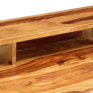 "vidaXL Writing Desk 45.3""x19.7""x33.5"" Solid Sheesham Wood[5/13]"