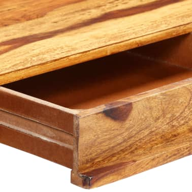 "vidaXL Writing Desk 45.3""x19.7""x33.5"" Solid Sheesham Wood[6/13]"